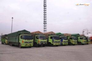 Ekspedisi Darat via Truck & Kereta Api