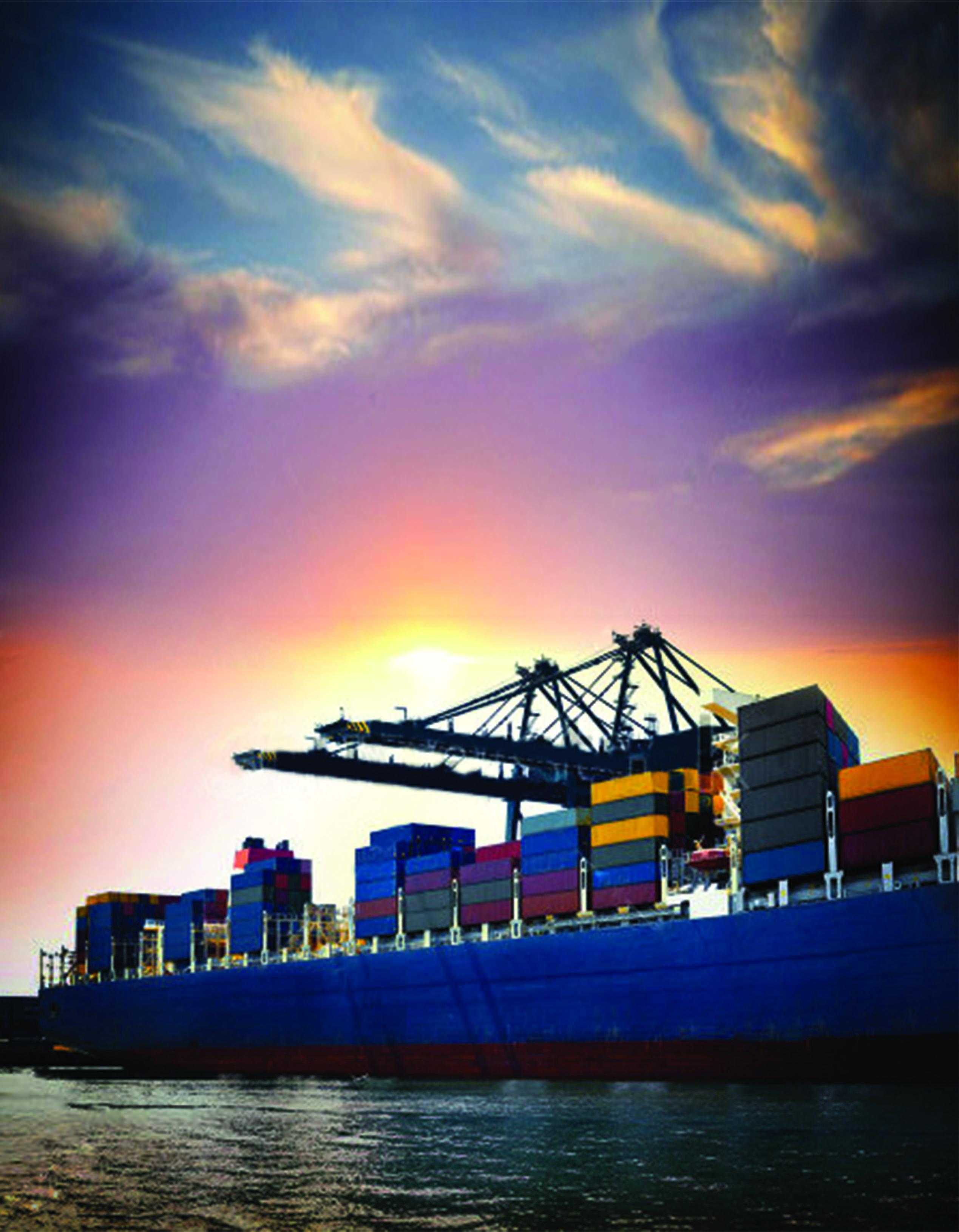 pengiriman barang lewat laut