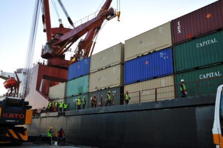 Cargo Container Antar Pulau