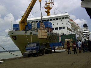 Ekspedisi via Kapal Pelni